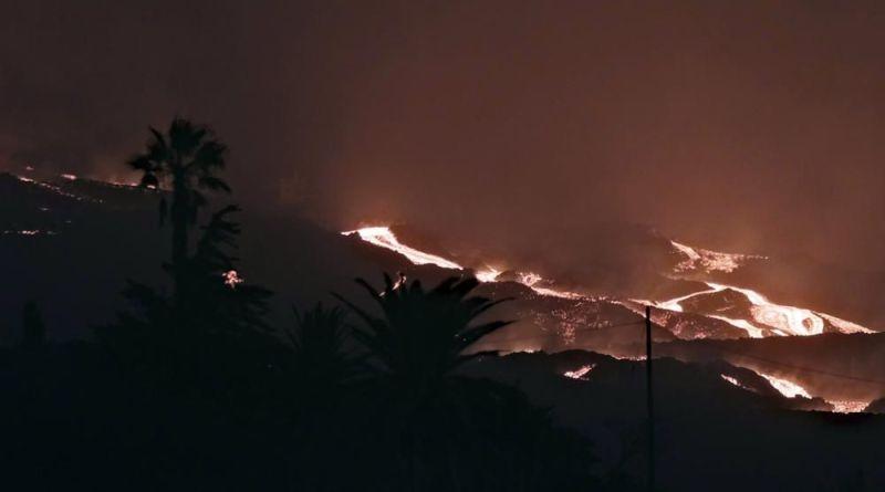 volcan palma sigue erupción