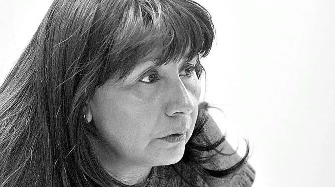 Roxana Miranda en el debate del Frente Amplio