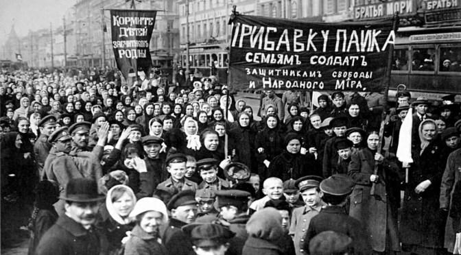 León Trotsky: Cinco días (23-27 de febrero de 1917)