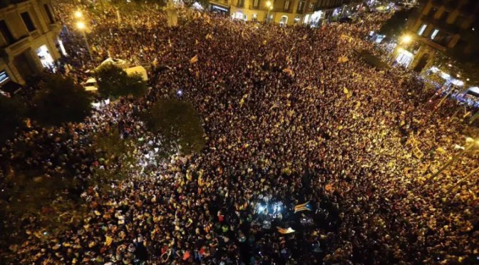 Jornada de resistencia popular catalana: ¿Se acabó el Procés?