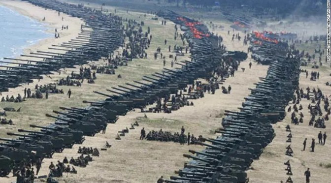 Las amenazas de Trump contra Corea del Norte significan un peligro real de guerra