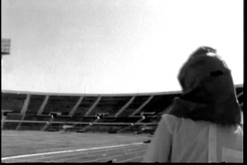 El encapuchado del Estadio Nacional