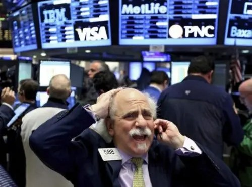 Una semana negra para los mercados financieros en el mundo
