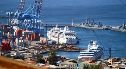 Valparaíso: mega puerto o muelle de cruceros