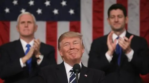 EEUU: El discurso del estado de la Unión de Trump, un espectáculo de reacción y militarismo