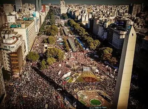 Argentina: los trabajadores y la juventud le dicen NO al FMI en las calles