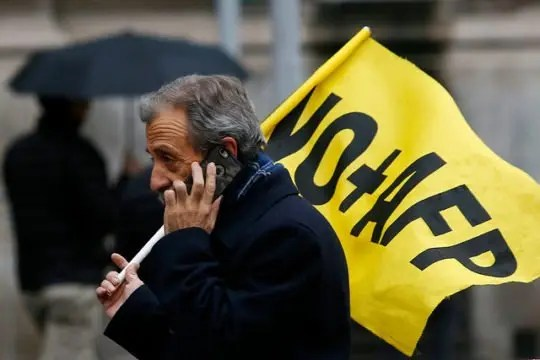Luis Mesina: Discurso de lanzamiento de campaña Iniciativa Popular de Ley No+AFP