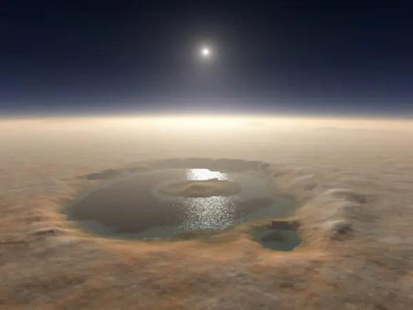 El descubrimiento de agua líquida en marte y la concepción materialista del universo