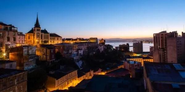 El apocamiento portuario de Valparaíso