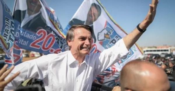 Brasil: el primer lugar de Bolsonaro