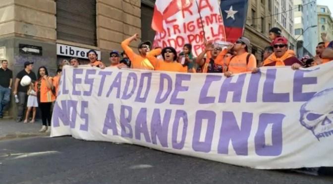 """Portuarios de Valparaíso: """"El Estado debe intervenir, el principal daño lo sufren nuestras familias"""""""