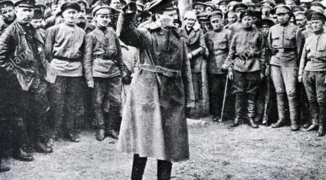 León Trotsky: el Ejército Rojo