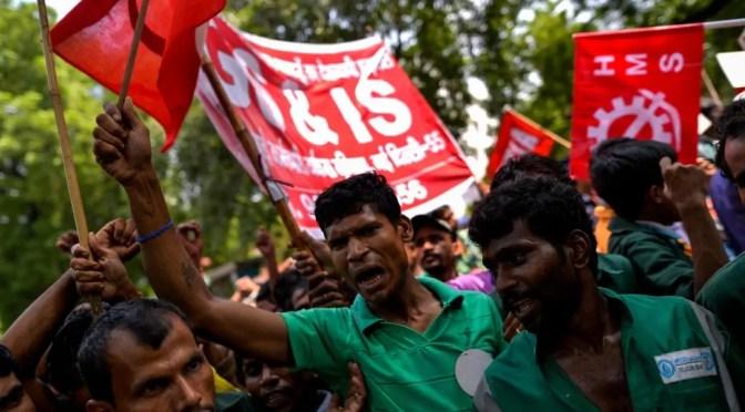 India: huelga general 8 y 9 de enero