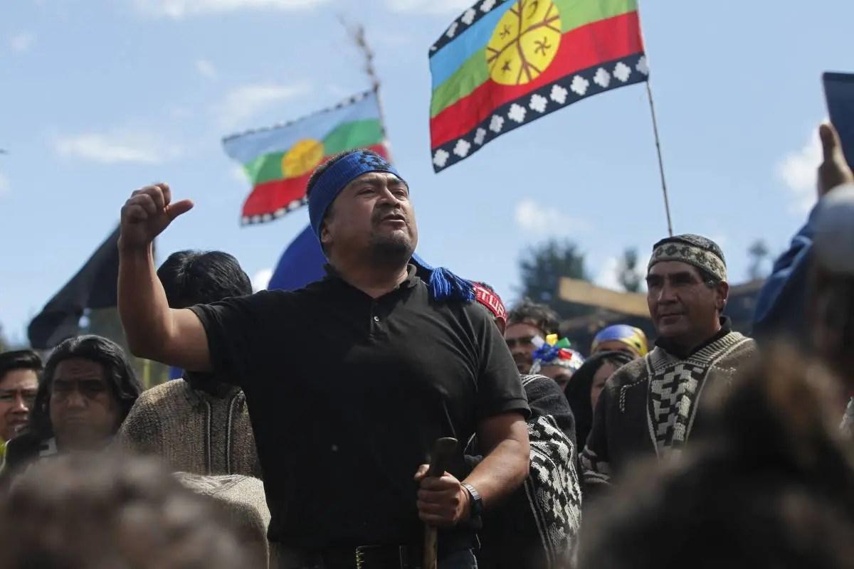 """Héctor Llaitul: """"No luchamos contra la sociedad chilena ni contra el chileno común"""""""