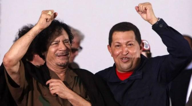 ¿Pasará en Venezuela lo que Chávez denunció en Libia?
