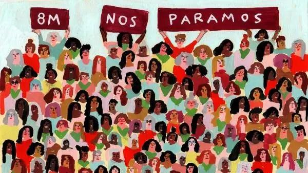 Huelga Feminista el 8 de marzo: su programa de lucha