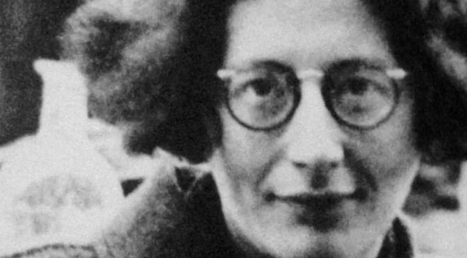 Simone Weil: condición primera de un trabajo no servil