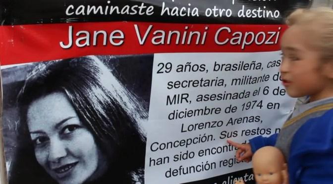 Luz y muerte de Jane Vanini
