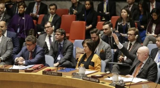 EEUU hace tiempo en la ONU, sin encontrar cómplices para su invasión a Venezuela