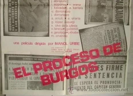 Juicios para la historia: El proceso de Burgos