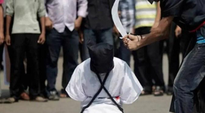 Régimen saudí respaldado por Estados Unidos decapita a 37 presos políticos