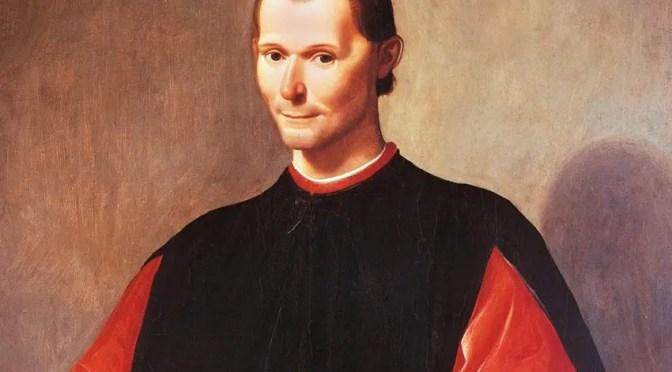 Maquiavelo: la multitud sabe más y es más constante que un príncipe