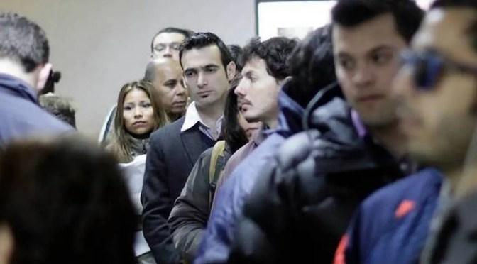 Tiempos mejores: Tasa de desempleo en Santiago sube a 8,4% y supera al promedio de los últimos diez años