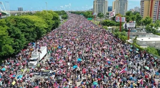 Puerto Rico: La mayor movilización de la historia