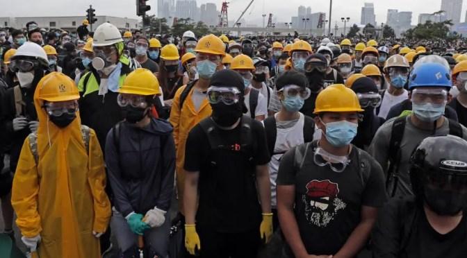 Manifestantes en Hong Kong: la respuesta está junto a la clase obrera china, no con imperialismo estadounidense