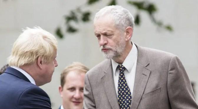 Reino Unido: en crisis del brexit, Corbyn se alinea con conservadores y blairistas