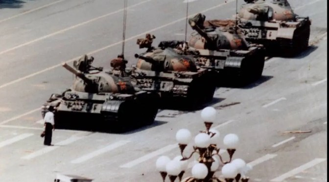 China: treinta años desde la masacre de Tiananmen