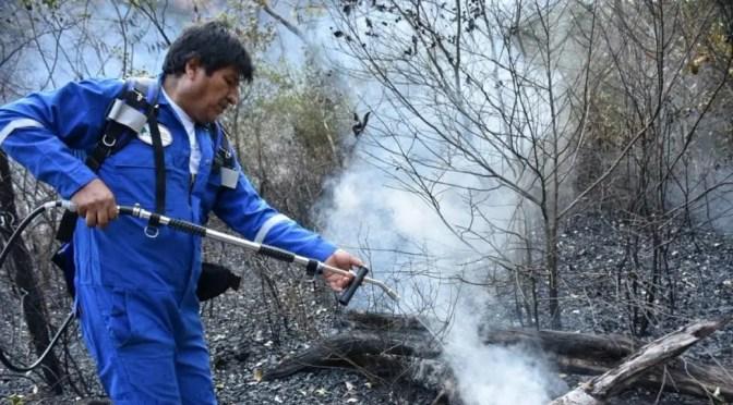 La verdad de los incendios en la Amazonía boliviana: La alianza de Evo Morales con los gremios agroindustriales