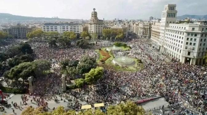 Cataluña: el látigo de la reacción reactiva las protestas republicanas