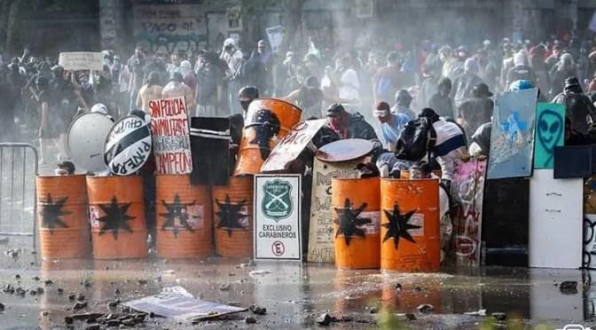 Frente Territorial Anticapitalista: huelga general hasta que se vaya Piñera