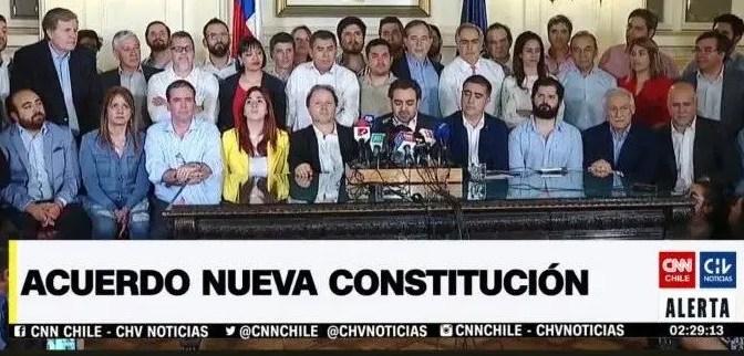 Acuerdo Piñera y Oposición: una trampa constitucional