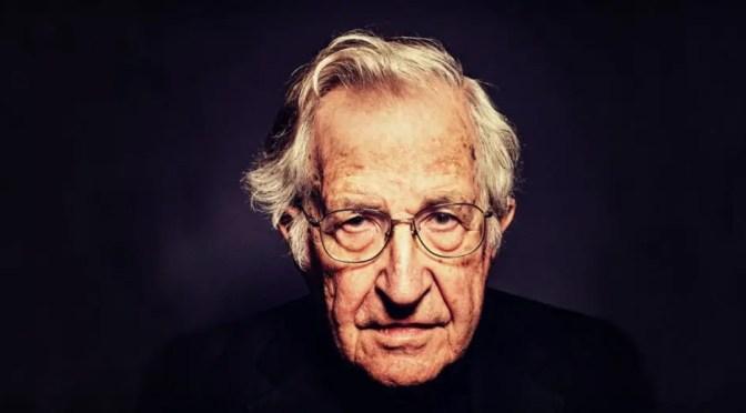 Entrevista a Noam Chomsky: EEUU es un Estado canalla