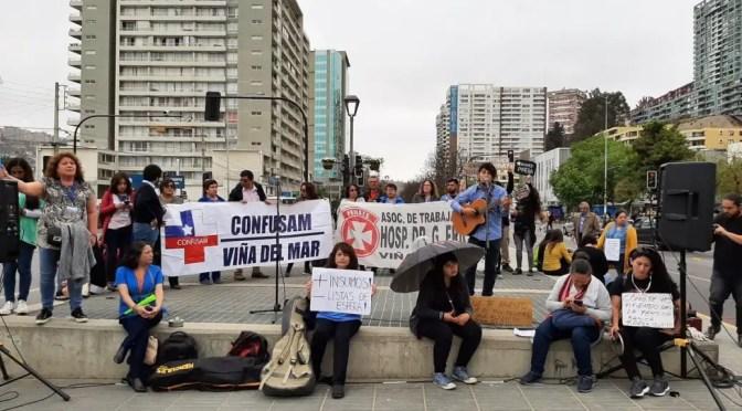 CONFUSAM exige a Reginato cuarentena total de Viña del Mar