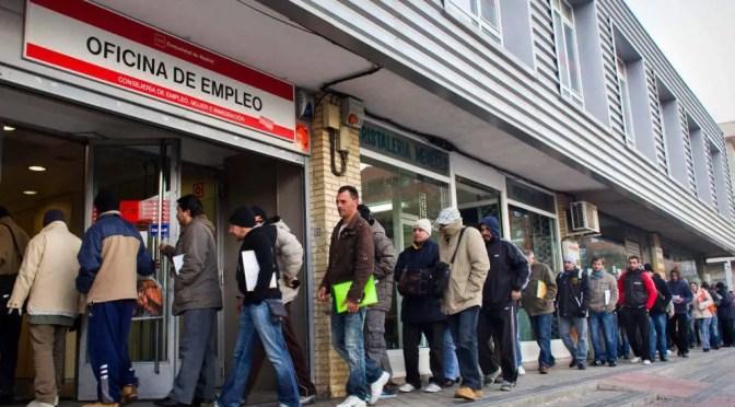 España: la economía en caída libre, que la crisis  la paguen los ricos