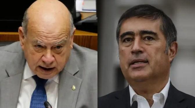 Un Gobierno sin oposición y las dos derechas: la de Desbordes (RN) y la de Insulza (PS)