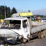 Tres lesionados en accidente cerca de Victoria