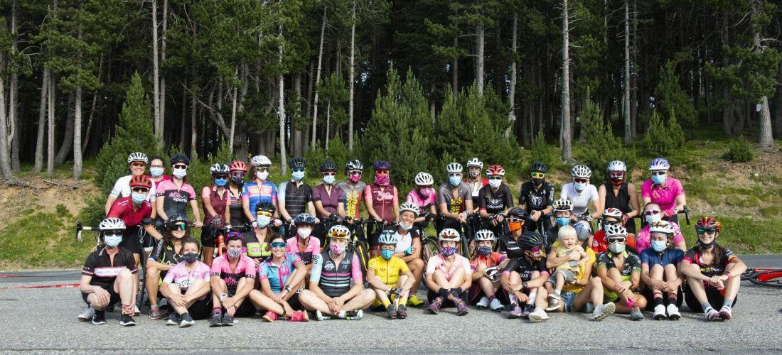 40 ciclistes es citen a la trobada d'iniciació d'Andona