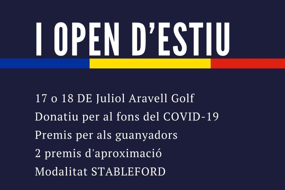Obertes les inscripcions per l'Open d'estiu de golf