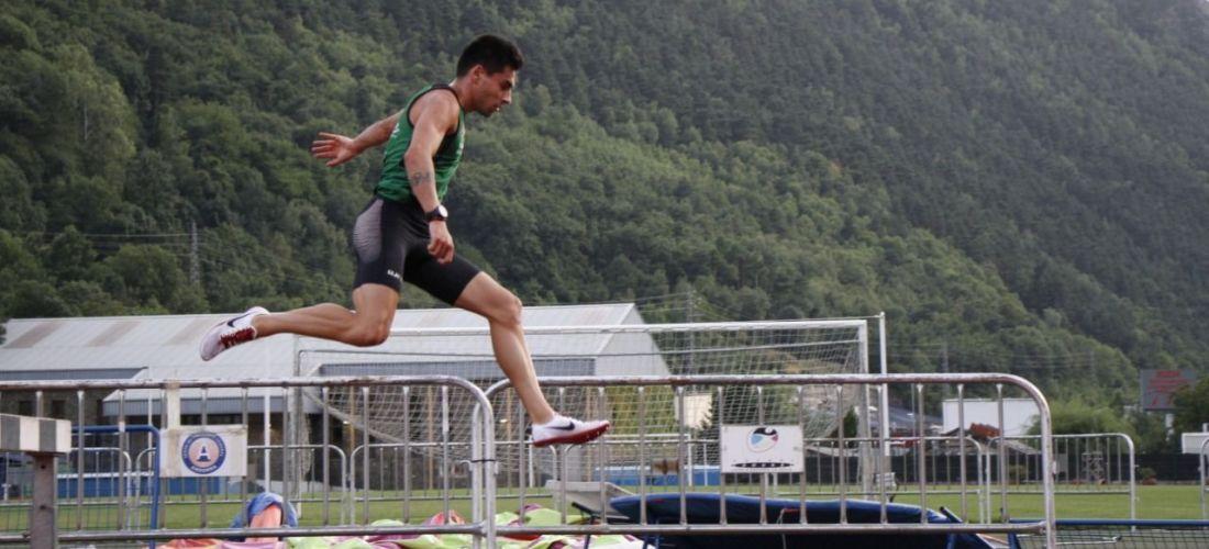Nahuel Carabaña record d'Andorra absolut dels 3000 obstacles