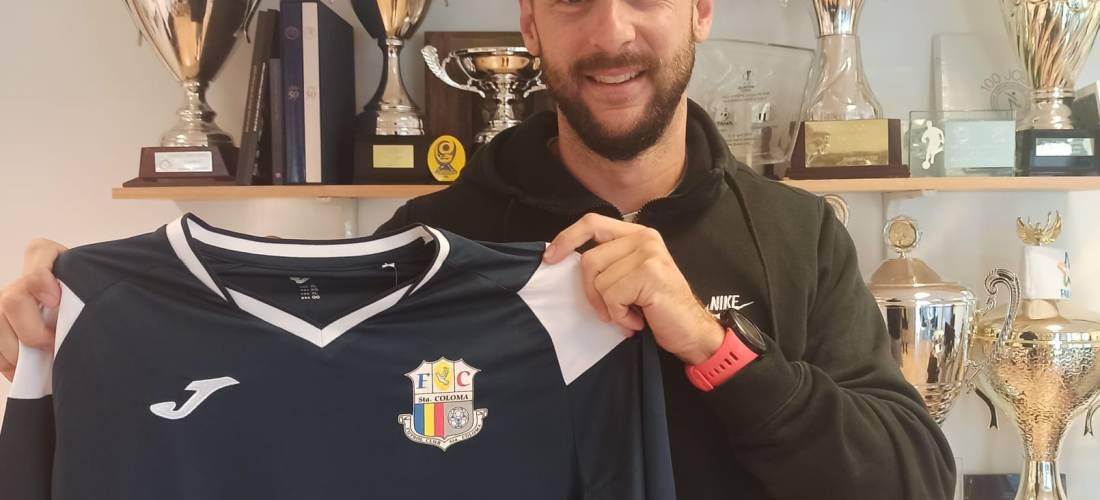 Àlex Sànchez renova pel FC Santa Coloma