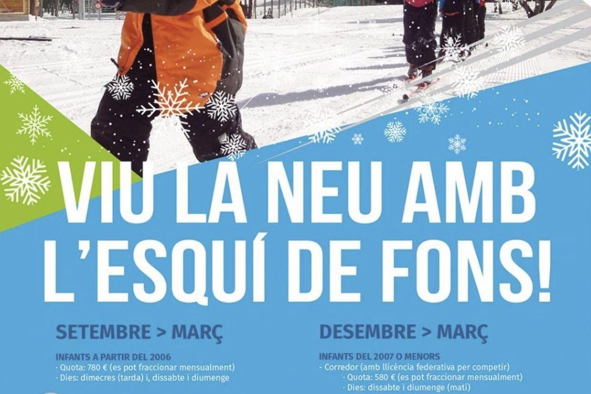 S'activa la promoció de l'esquí de fons a Sant Julià de Lòria