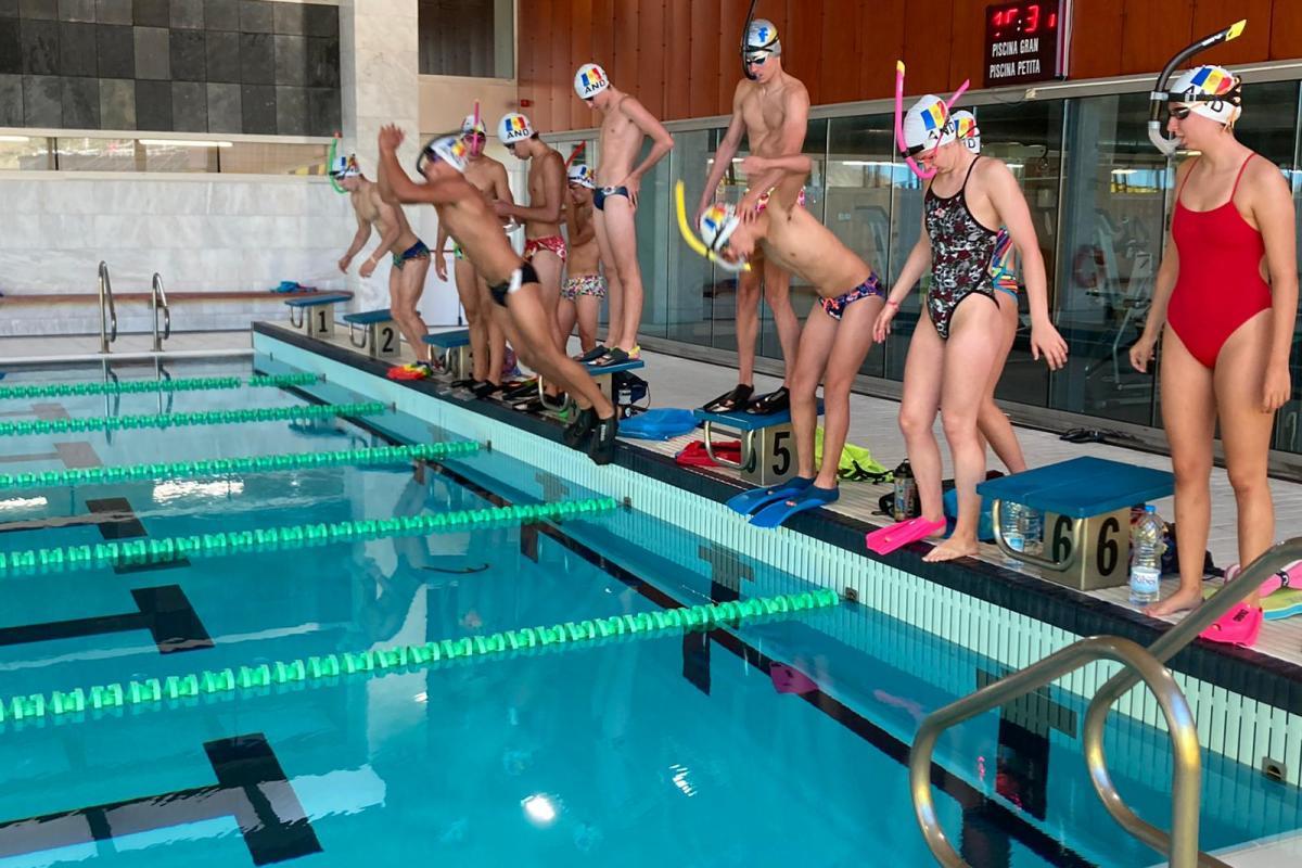 Els nedadors de la FAN de pretemporada
