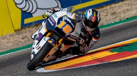 Cardelús repetirà a Motorland, en el mundial de Moto2