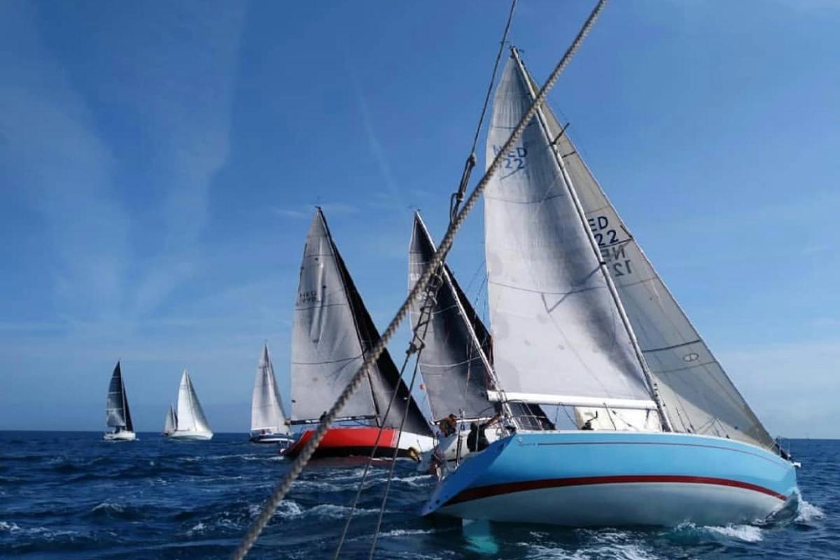 Marcel Lescano amb el Blue Carbon guanya la Barcelona-Sòller