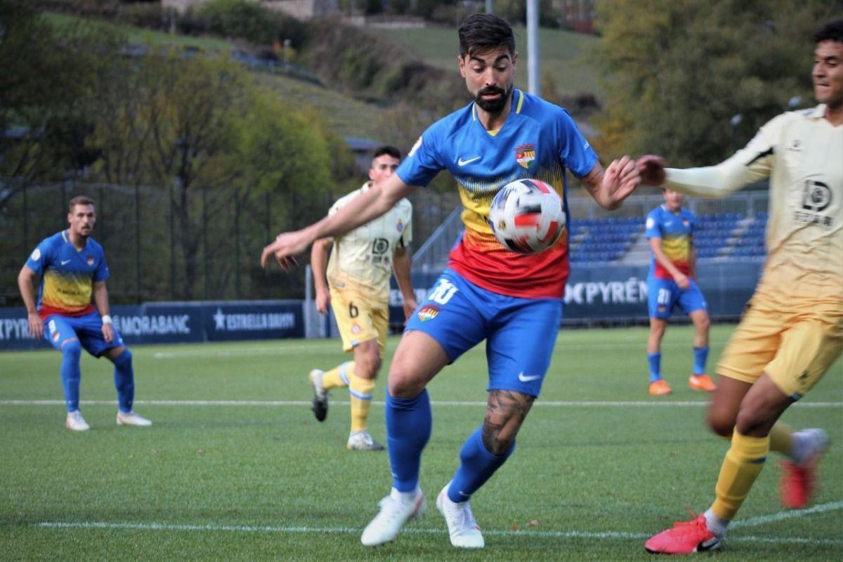 L'FC Andorra salva un punt davant l'Espanyol B en el seu debut a Prada de Moles