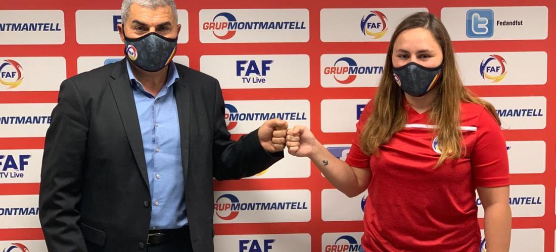 Marina Fernández, nova ambaixadora del futbol femení andorrà